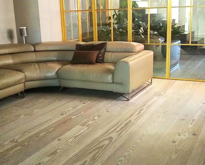 Instalación de suelo de madera natural y exterior, TARIMA2